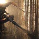 ACI Nozzleman for Shotcrete Application. AAA Concrete Pumping, LLC. Portland, Oregon