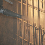 High Pressure Shotcrete by Putzmeister and AAA Concrete Pumping, LLC. Portland, Oregon