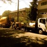Concrete Line Pump for Portland Metro, Salem and Vancouver, Washington