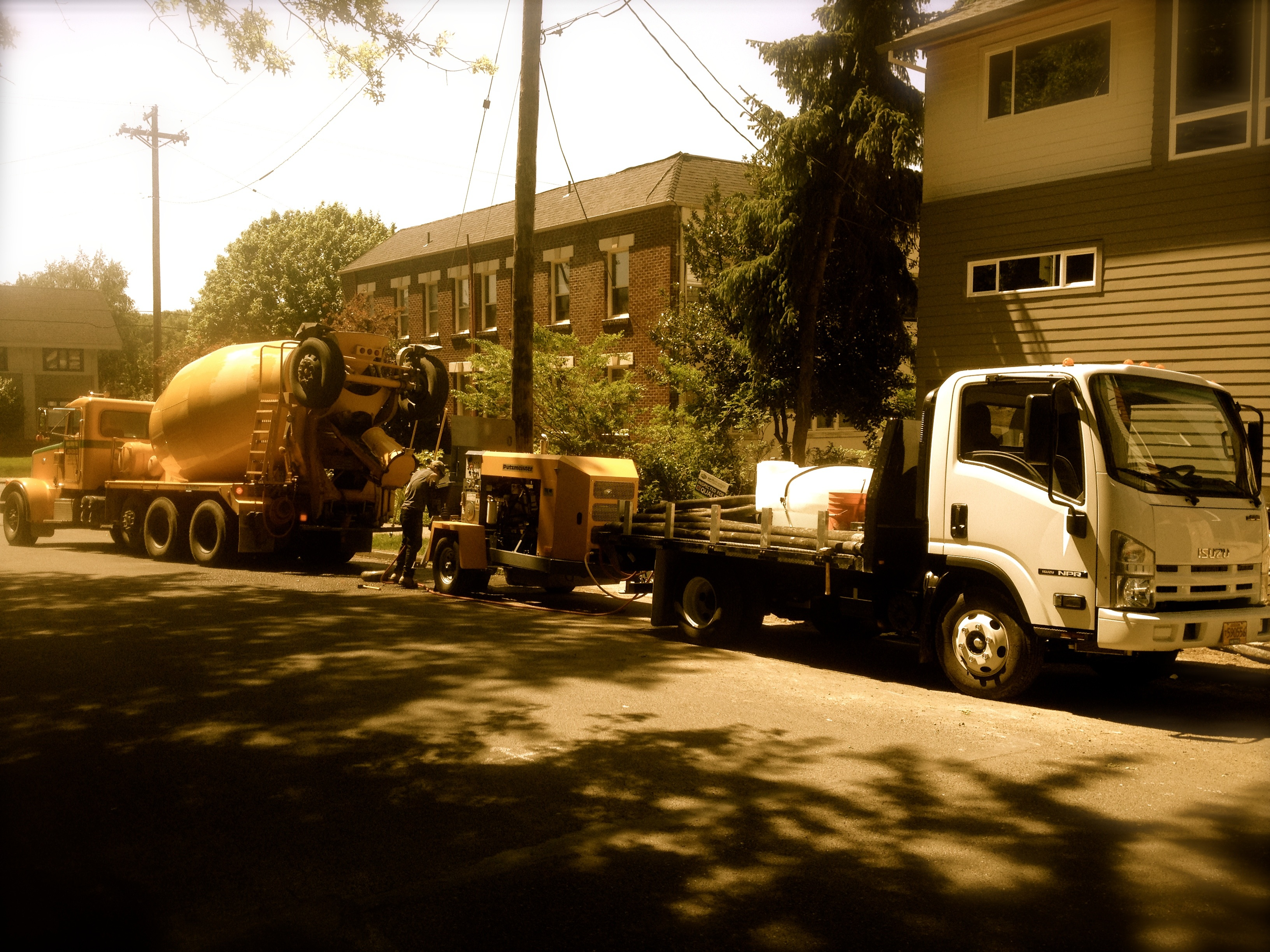 Concrete Line Pump for Portland Metro, Salem and Vancouver, Washington
